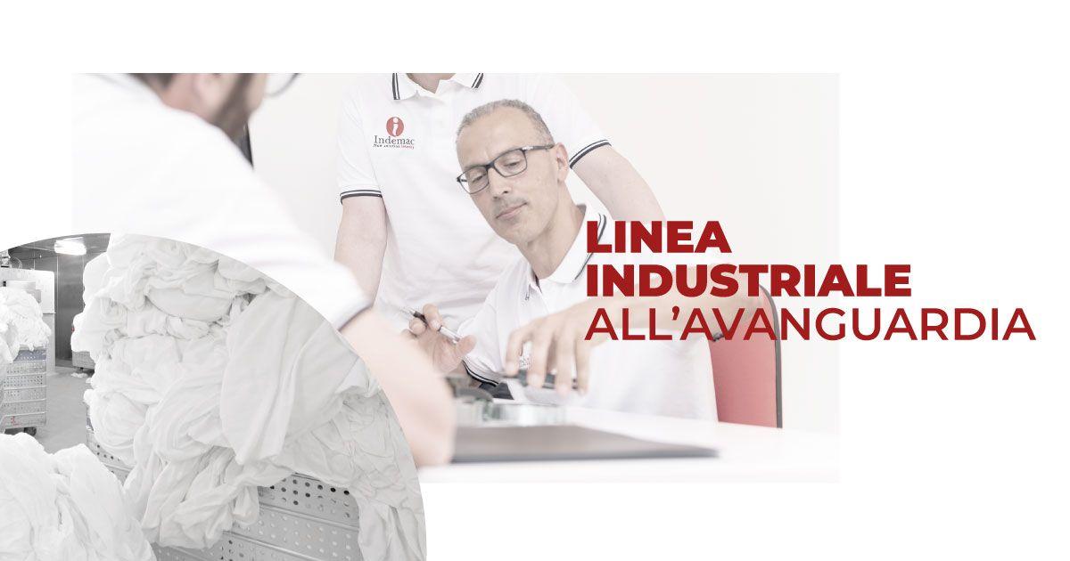 Linea industriale all'avanguardia